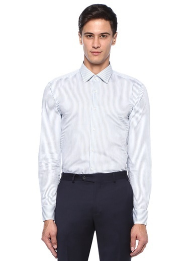 Boss Gömlek Mavi